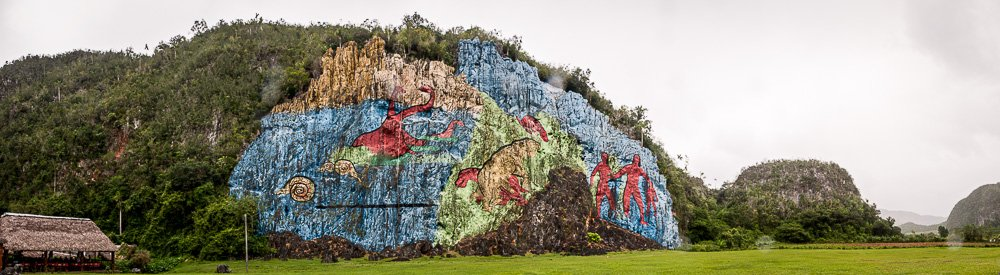 Mural de Prehistoria - Vinales Valley - Cuba Photography Workshops - Cuba Photo Tours