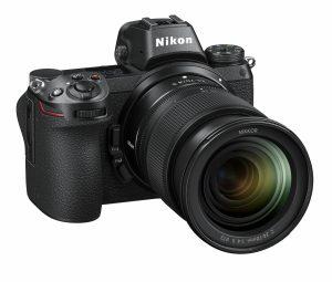 The Nikon Z 7 mirrorless interchangeable lens camera