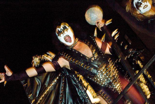 Gene Simmons - KISS - NYC Halloween Parade
