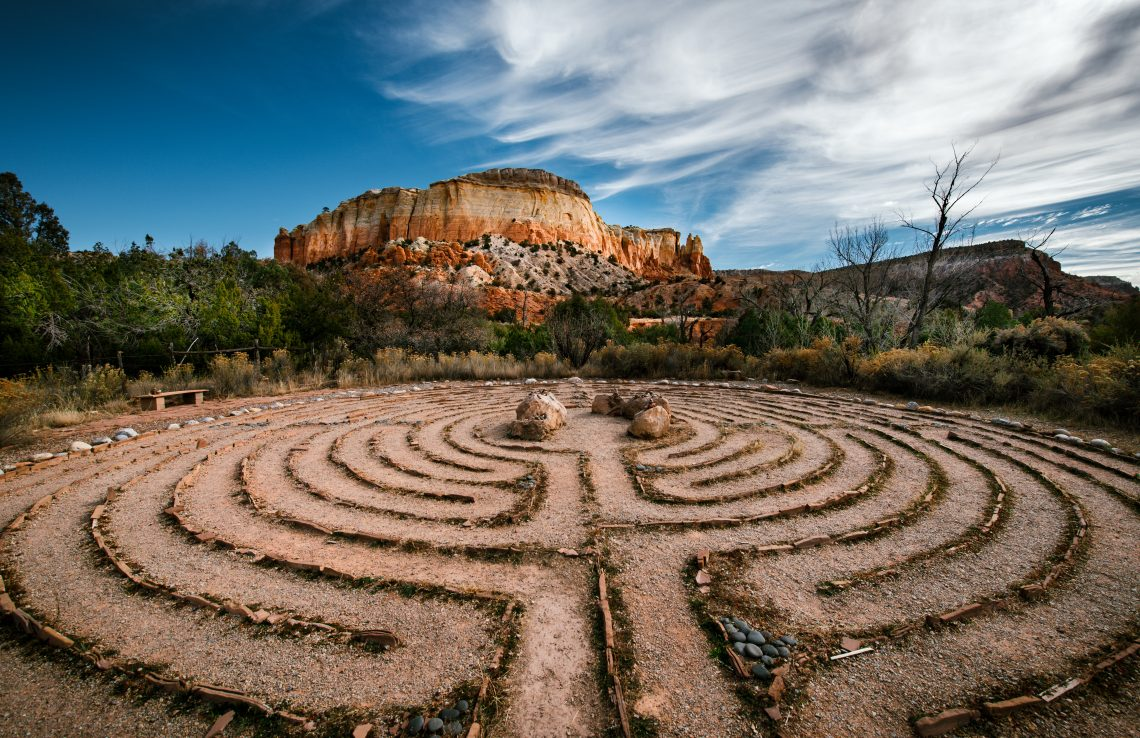 Best Photography Workshops - Best Photography Tours - Kitchen Mesa and Labyrinth - New Mexico Photography Workshop