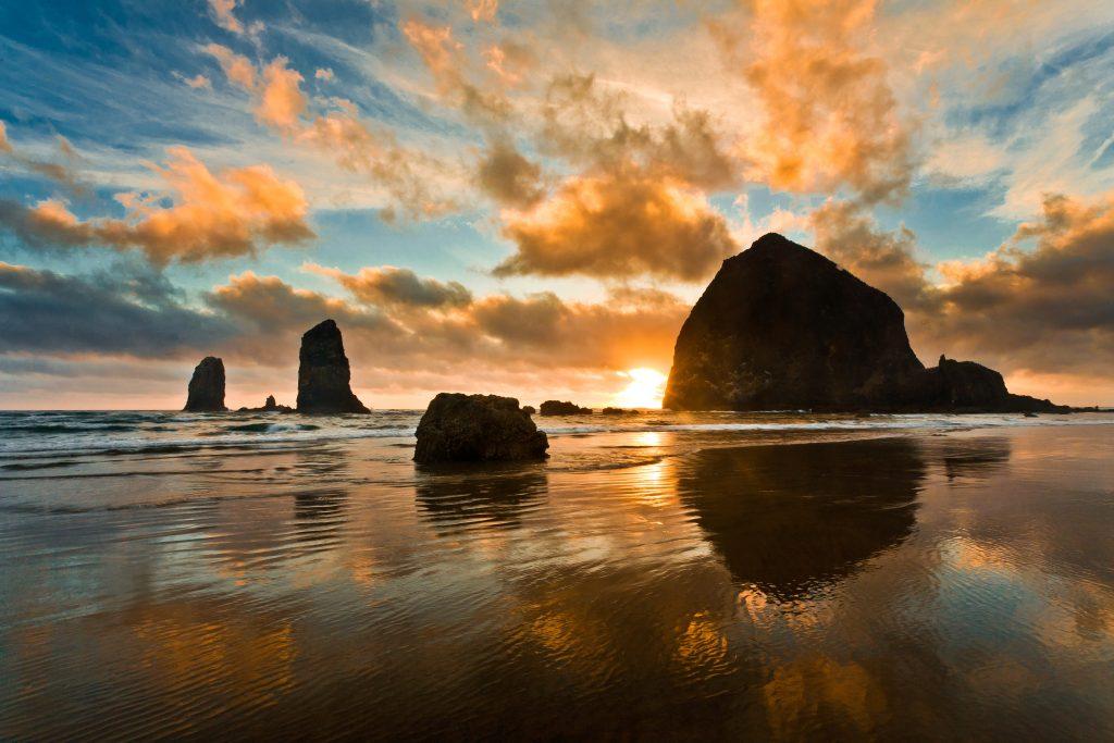 Haystack Rock - Cannon Beach - Oregon
