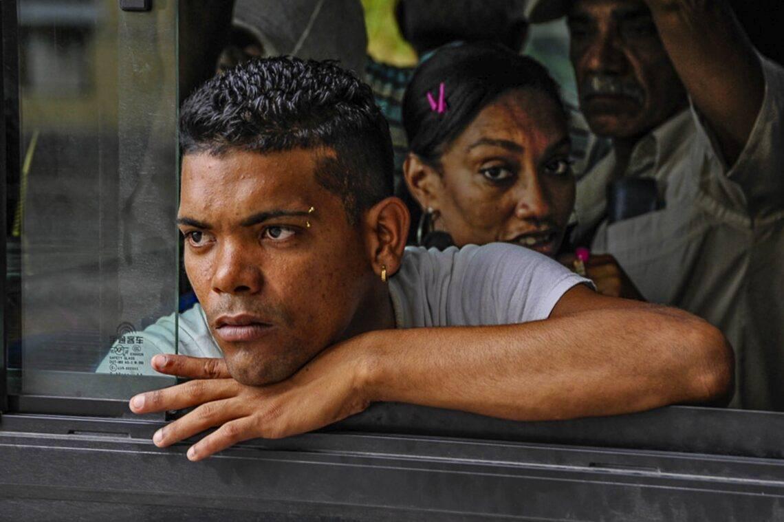 Man on Bus - Havana - Cuba