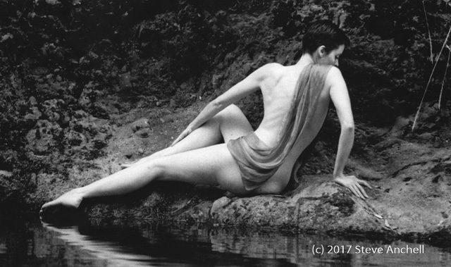 Sabrina at Pheneger Creek - Big Sur - California - Nude