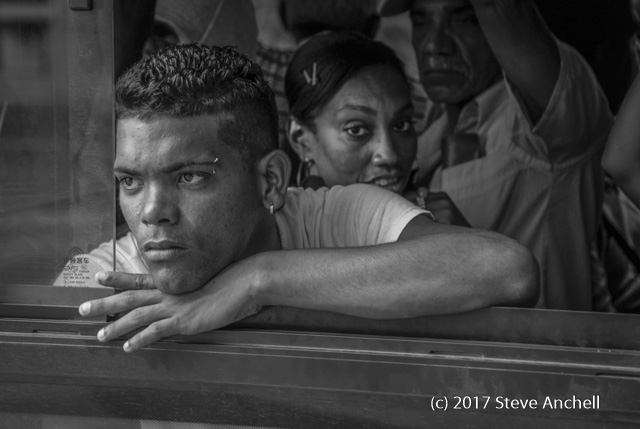 Man on Bus - Havana - Cuba - Cuba Travel Advisory