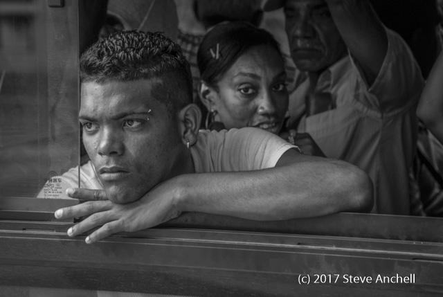 Man on Bus - Havana - Cuba - Cuba Travel Advisory