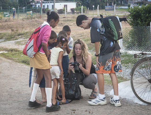 Cuba - workshop - school children