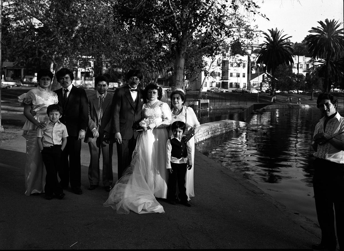 Miguel Poot Wedding, McArthur Park, Los Angeles
