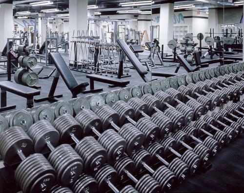 Gold's Gym, N. Hollywood, Calif.